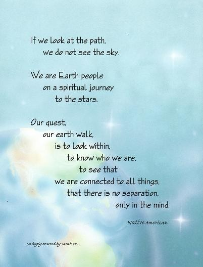 If we look at the path