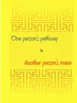 One person's pathway
