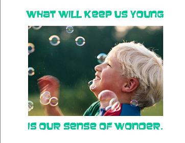 What will keep us young
